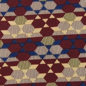 GEOMETRIC PATTERN Silk Men Necktie Ties